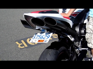 07-08 Yamaha R1 Toce Performance Slip-on Exhaust, LuiMoto Seat....