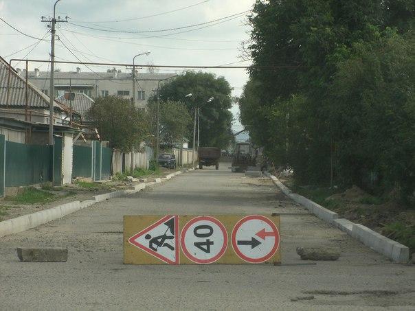 В станице Зеленчукской отремонтируют автодорогу на улице Леонова