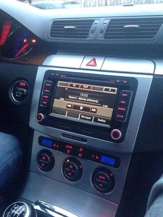 Новые Навигационные Системы VW RNS-51 для Passat B6, B7 и не