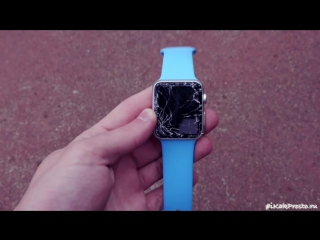 Ломаем Apple Watch Sport (Дроп-Тест)