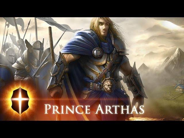 Prince Arthas - Original speed painting by Tamplier 2011