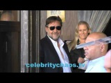 Actor Russell Crowe arrives to Director Ridley Scott hollywood star ceremony