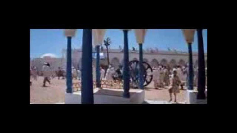 Волшебная лампа Аладдина Царевна Будур идет в баню