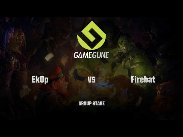 [RU] Ek0p vs Firebat | GameGune 2015 | Group Stage