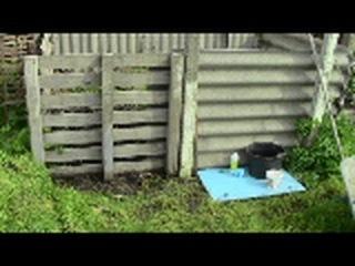 Как приготовить компост - Компостная яма ( composting )
