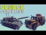 ►Besiege Compilation - Tanks and trucks