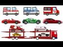 Сборник мультфильмов. Развивающие мультики для детей про машинки все серии подряд. Крошка Антошка Т