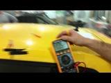 Мостовое подключение двух усилителей ARIA AP-D1000 в 0,8 Ом мощность усилителя GAIN 3/4