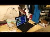 Мостовое подключение двух усилителей ARIA AP-D1000 в 0,8 Ом мощность усилителя GAIN 1/2