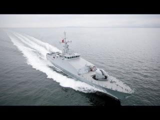 Новый турецкий патрульный корабль класс Tuzla