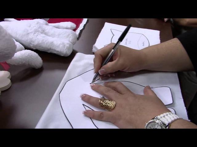 Mulher.com 30102014 - Boneca Gatinha Carlota por Eliana Lopes - Parte 1