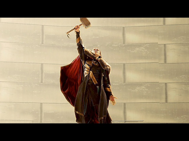 LOKI wields Thor's Hammer DELETED SCENE from THOR 2