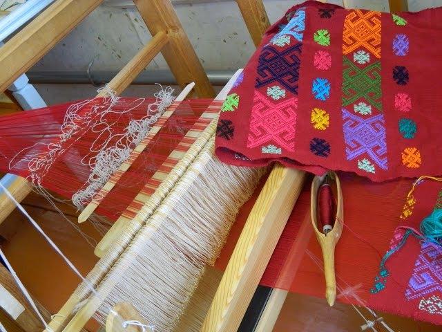традиционное удмуртское ткачество.(на русском)