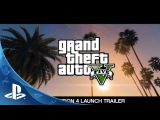 Grand Theft Auto V The Official Launch Trailer  PS4