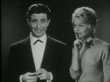 Gilbert Becaud Brigitte Bardot . Nouvel an 1957 . Les march