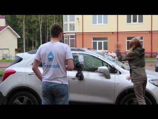 (ea7) девушка перепутала машину парня