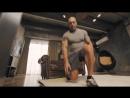 5 выпуск. Упражнения для ног, выпрыгивания из выпада.  Домашние тренировки с Денисом Семенихиным