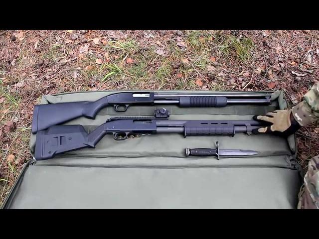Обзор оружейного тюнинга на Mossberg 590А1