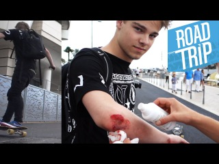 TADDLS LONGBOARD UNFALL + TAUCHEN in Cannes   #ROADTR7P Tag 4   Dner