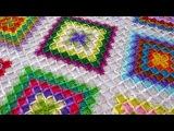 Уроки вязания крючком. Баварское вязание - Bavarian crochet