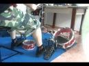 Brutal Death drummer VS Mini drum kit !