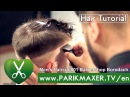 Men's Haircut 01 Barbershop Borodach. parikmaxer TV USA