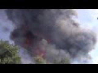 Киев пожар на нефтебазе в Василькове Нефтебаза БРСМ 08.10 -10.06.2015