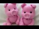 Амигуруми схема Поросенок Игрушки вязаные крючком Free crochet patterns Free crochet patterns