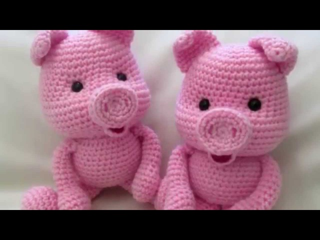 Амигуруми: схема Поросенок. Игрушки вязаные крючком! Free crochet patterns. Free crochet patterns.