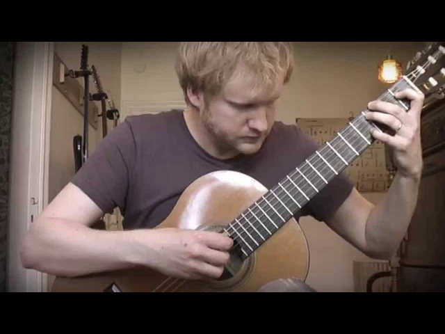 Heroes of Might and Magic 3 - Snow Theme (Acoustic Classical Guitar Cover by Jonas Lefvert)