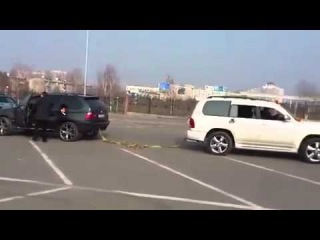 Toyota land cruiser 100 VX vs BMW X 5