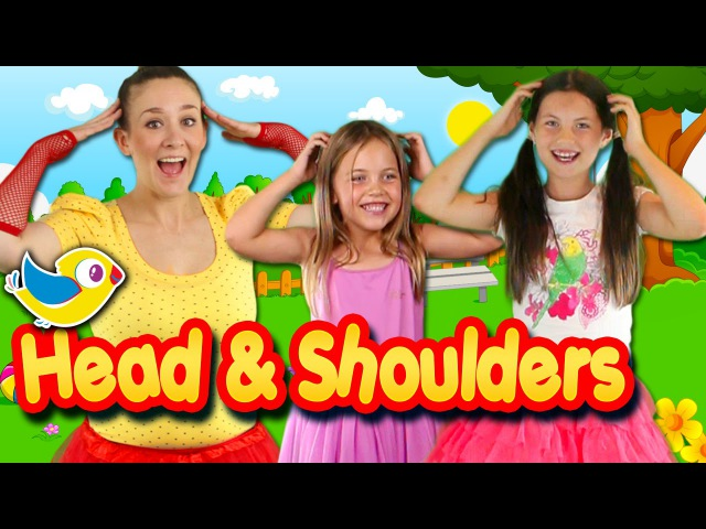Head Shoulders Knees and Toes with Charlis Crafty Kitchen | Kids nursery rhymes