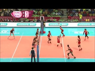 Sarina KOGA {JPN} Highlights - FIVB World Grand Prix 2015 [720p]