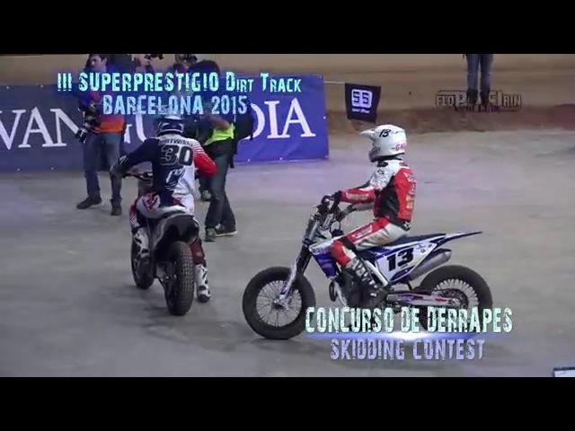 Concurso de Derrapes | Skidding contest - III Superprestigio Barcelona 2015(UHD/4K)