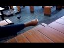 Дима кормит голубей