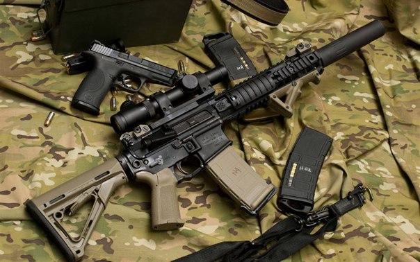 Автомат (штурмовая винтовка, карабин) Colt M4 и M4A1 carbine (США)