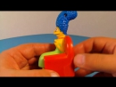 2008 THE SIMPSONS COUCH-A-BUNGA SET OF 6 BURGER KING KIDS MEAL TOYS VIDEO REVIEW (1)
