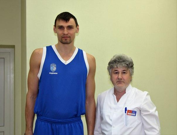 Андрей Бобылев с Алексеем Цветковым БК Родники