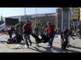 Турция. Два мощных взрыва прогремели в центре Анкары