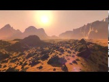 Рассвет на Марсе