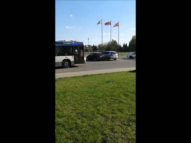 65 maršruto autobuso išvykimas iš St. Balsių Mokykla