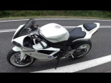YAMAHA R1 RN19 WHITE  EXHAUST FLYBY FULL HD.MTS