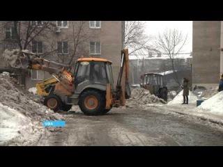 В Уфе в одном из многоэтажных жилых домов обрушилась крыша