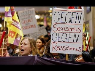 В Кёльне — акция протеста против «новогодних домогательств» | Cologne  a protest against