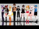 MMD 《FNAF》 Talk Dirty