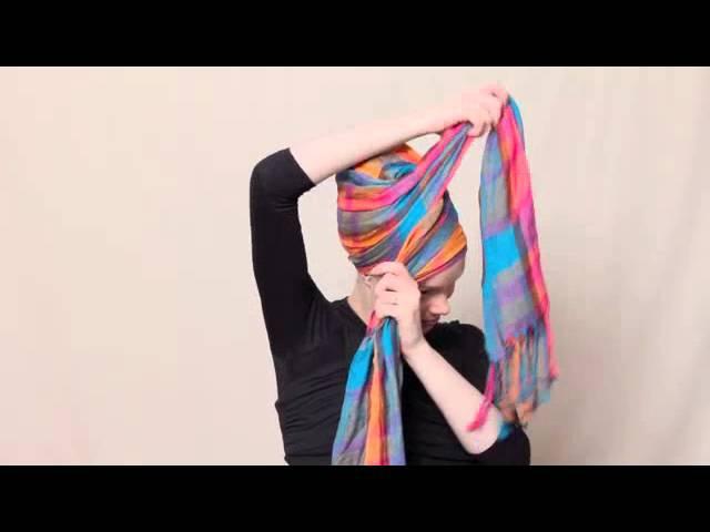 Empress Updo Headscarf
