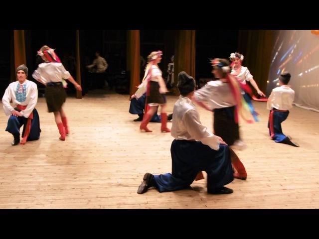 Народный Русско Украинский танец Гопак Folk dance Gopak