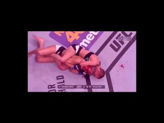 Топ 3 самых кровавых женских боя UFC