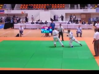 Финал чемпионата мира по джиу-джитсу-2015. Коржавых vs Бешенец (69 кг)