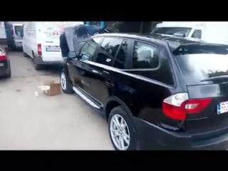 Чистка коллектора BMW X3 2004